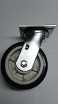 6X2 Heavy Duty Wheel & Caster with Swivel Top Plate