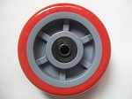 U Boat Stock Cart Wheel 6 x 2 Heavy Duty RED