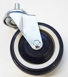 4 Inch Shopping Cart Wheel & Swivel Caster - 25 Count Box