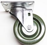 High Temp Oven Rack Wheel & Swivel Caster - 16 Count Box
