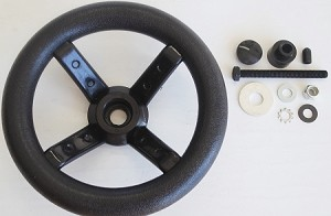 RTS Cart Steering Wheel